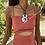 Thumbnail: Blue Sea Shell Handmade Necklace