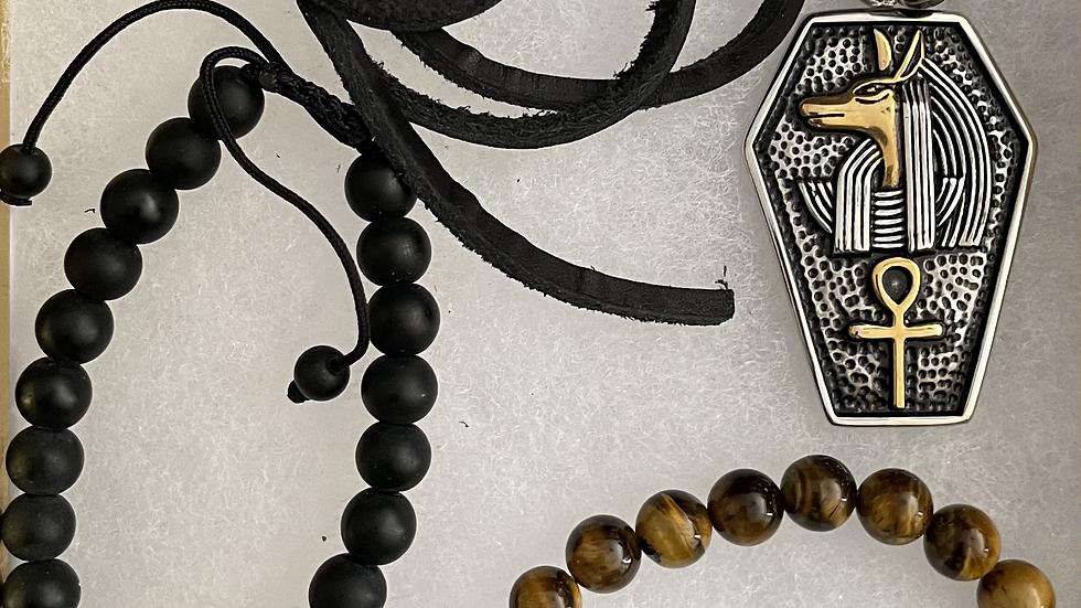 Men's Egyptian Necklace Box Set