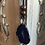 Thumbnail: Purple Agate Stone Leather Necklace