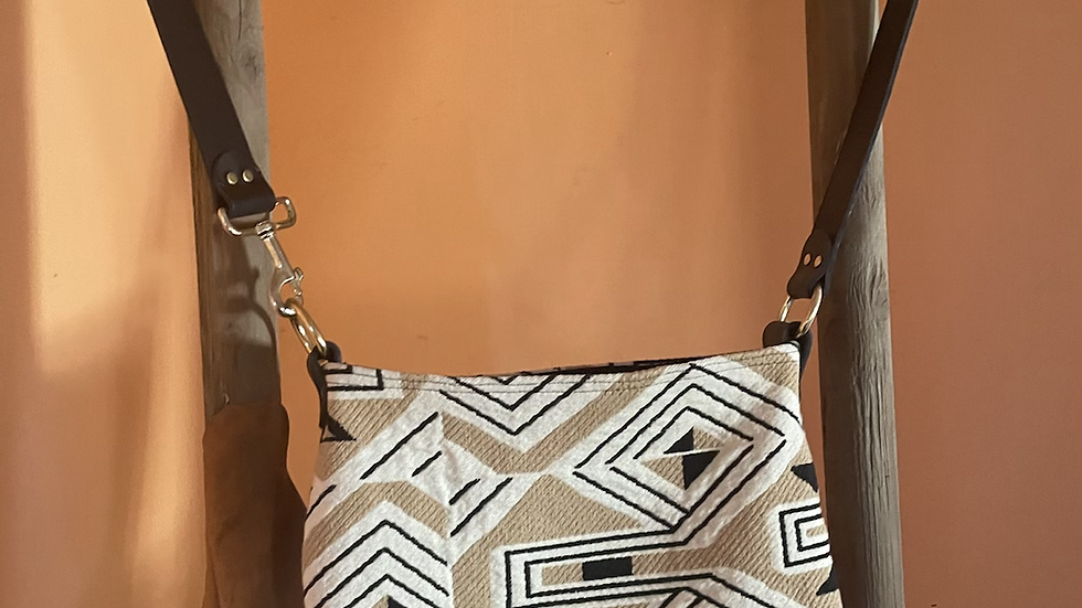 French Woven Purse/Computer Bag