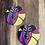 Thumbnail: Modern African Designed Earrings and Bracelet Box Set