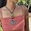 Thumbnail: Green Quartz Stone Necklace