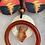 Thumbnail: Burnt Orange Sunset Necklace Box Set