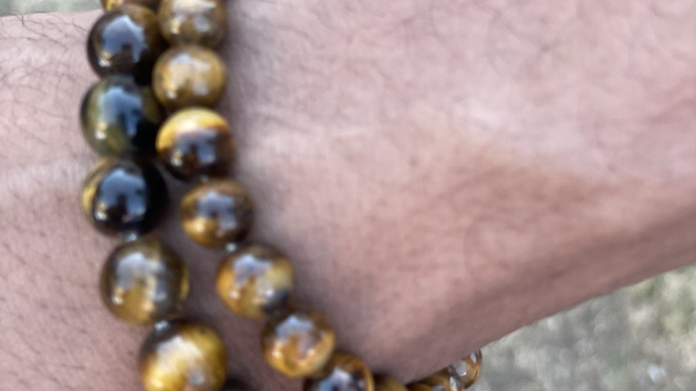 Tiger's Eye Bracelets (set)