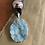 Thumbnail: Aqua Quartz Stone Necklace