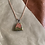 Thumbnail: Timeless Green Stone Leather Necklace