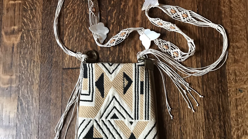 French Woven Purse