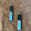 Thumbnail: Brown Agate/Turquoise Wood Necklace Set