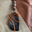 Thumbnail: Black Agate Wire Wrapped Handmade Necklace