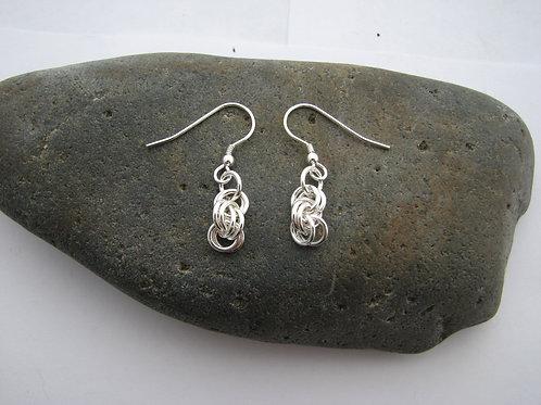 6mm Double Spiral Earrings