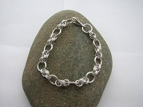6mm Double Spiral Link Bracelet
