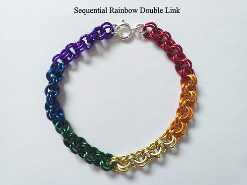 Customizable Rainbow Bracelet