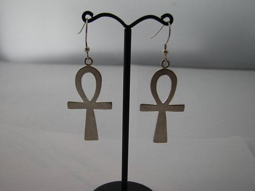 Large Ankh Earrings