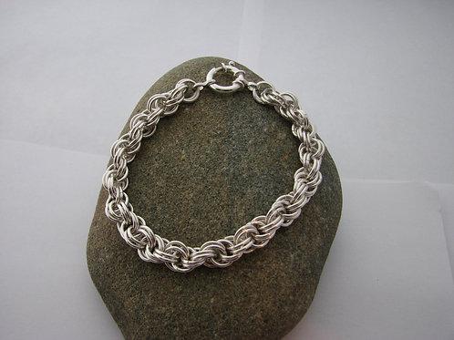 8mm Double Spiral Bracelet