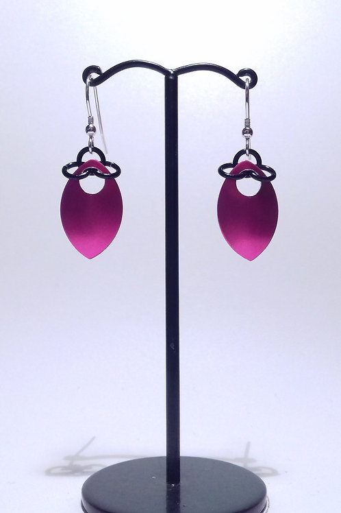 Punk Scalemaille Earrings (Single)