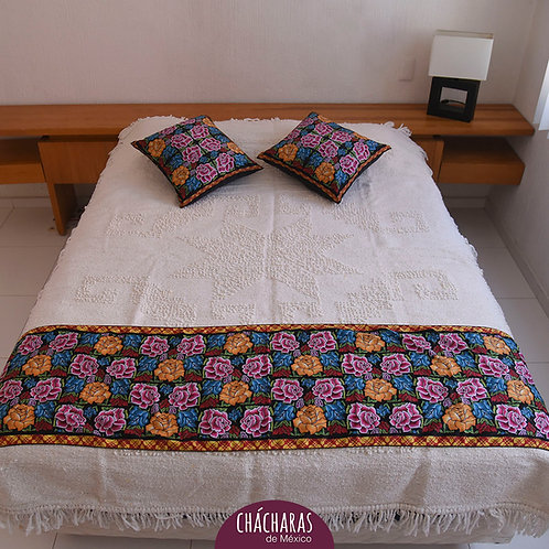 pie de cama mexicano