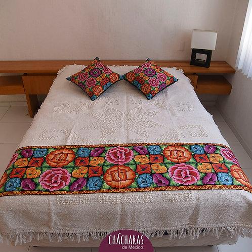 ropa de cama con flores