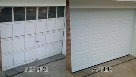 Garage Door Refurbishing