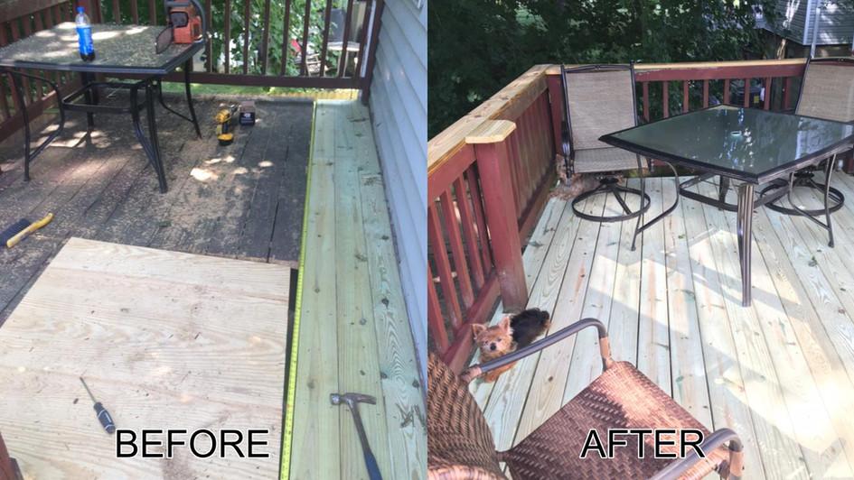 Deck Work