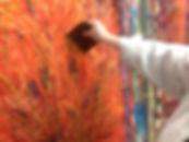 Kunsttherapie Stuttgart, sich lebendig fühlen, malen,stark fühlen,kreativ sein
