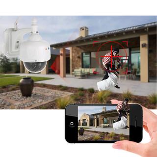 caméra dôme alarme extérieure