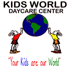 Kids World Daycare Logo