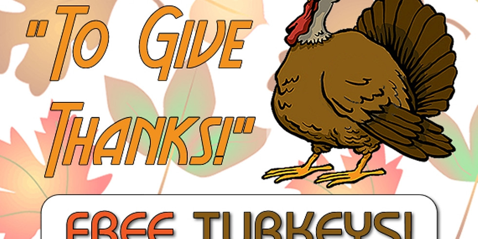 Free Turkeys at The Compassion Center!