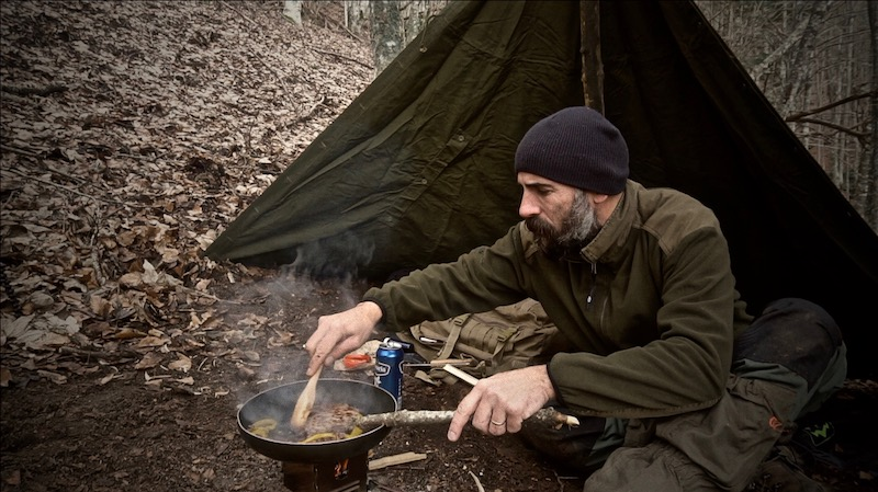 salatissimo - hamburger bushcraft