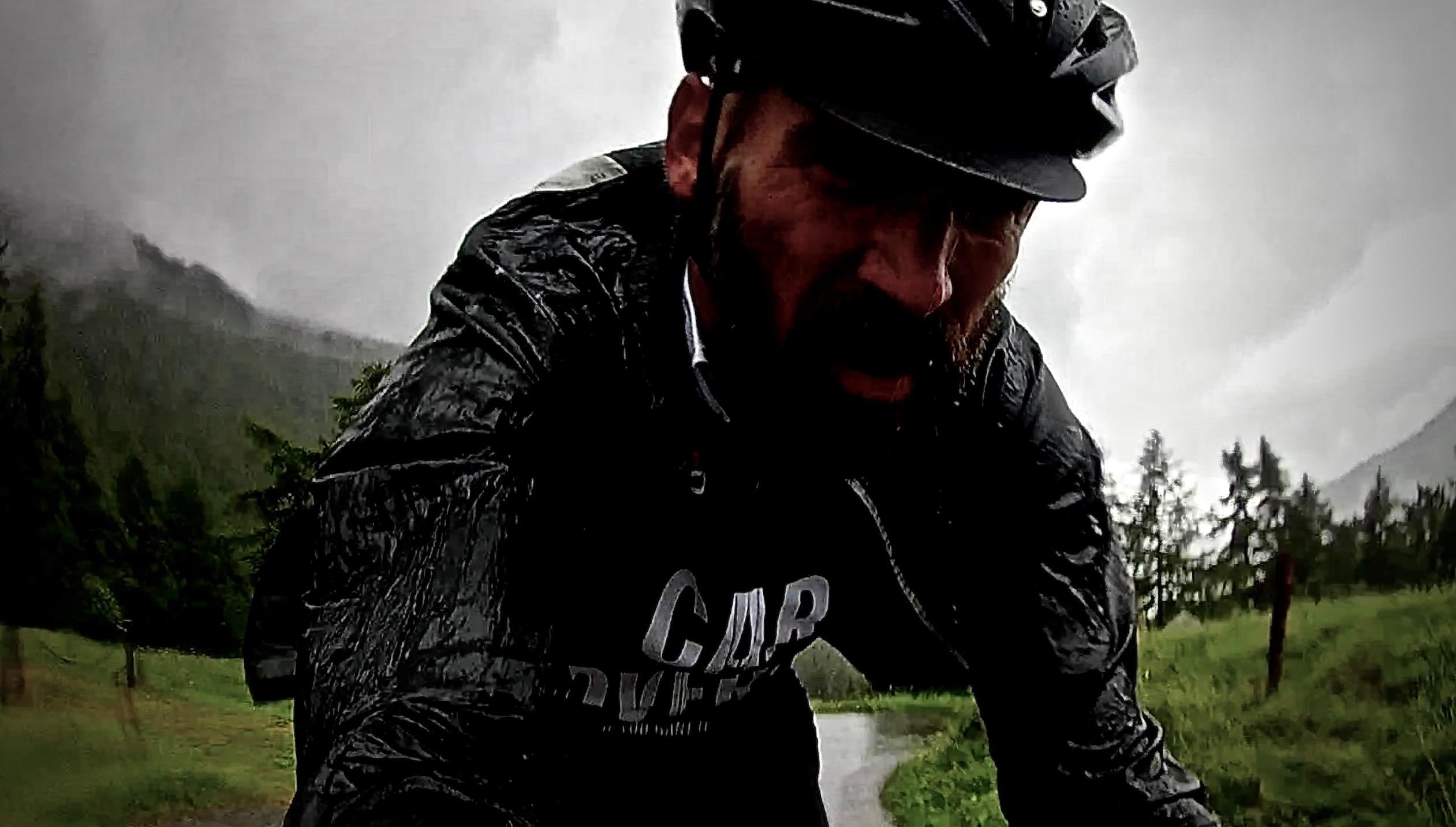 salatissimo - bike Mortirolo diluvio