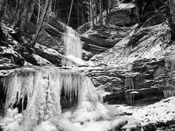 salatissimo - cascata ghiacciata