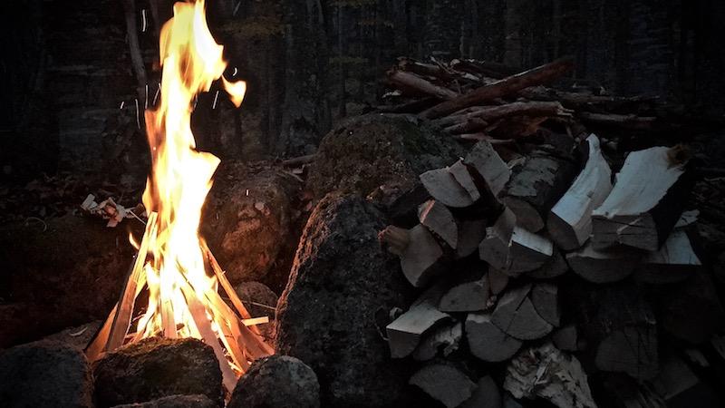 salatissimo - camp fire