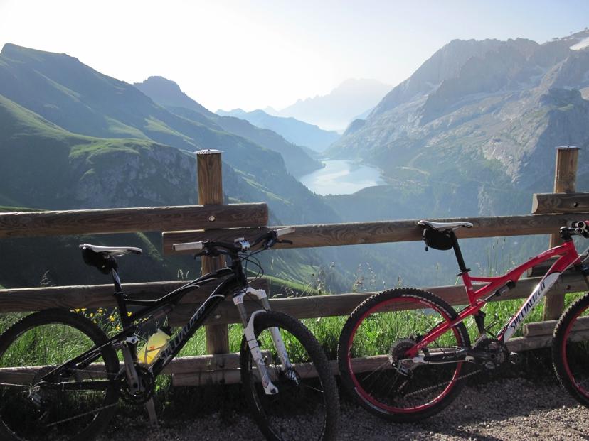 salatissimo - bike Lago di Fedaia