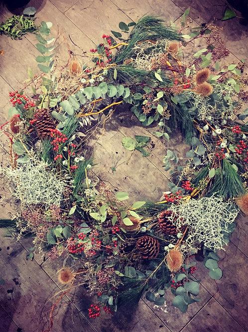 Large Rustic Wreath