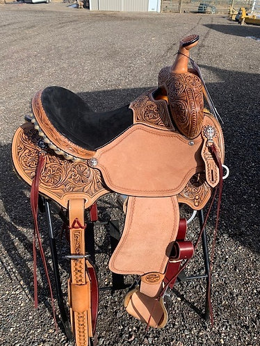 "New Custom Reinsman Charmayne James Saddle 14.5"" Seat"