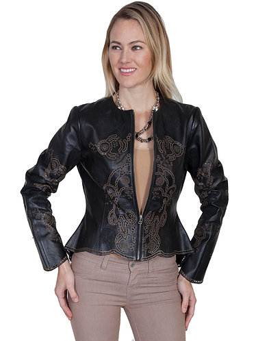 Scully Hi/lo leather Jacket