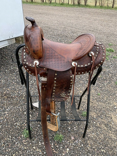 "Larry Larson Saddle 13.5"" Seat"