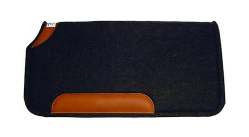 Diamond Wool 100% Wool Pad with Wear Leathers 30x30 Square