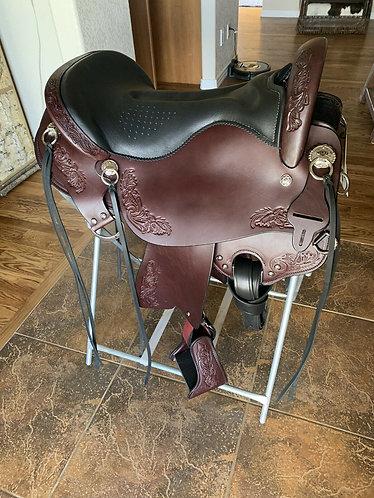 """New Tucker Horizon Outpost 17.5"""" Seat Saddle"""