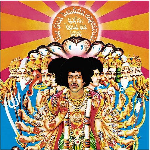 LP Axis: Bold As Love - Jimi Hendrix