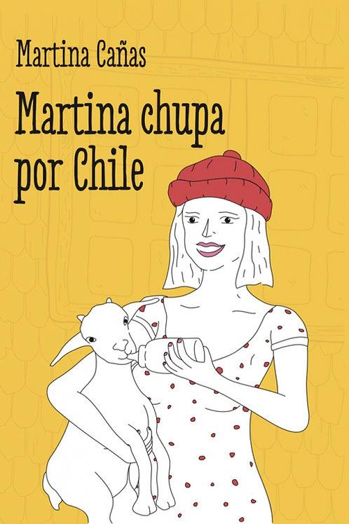 Martina chupa por Chile / Martina Cañas