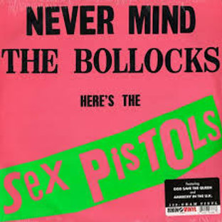 LP Never Mind The Bollocks  Here´s - The Sex Pistols