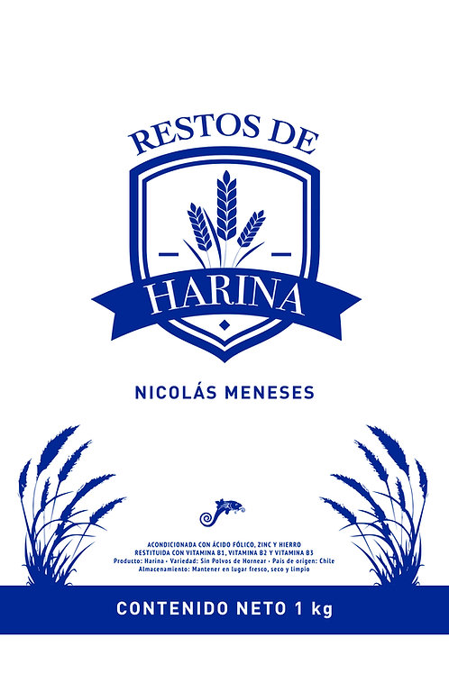Restos de harina / Nicolás Meneses