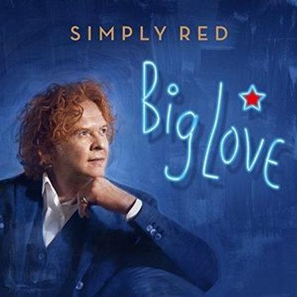 Cd  Big Love -   Simply Red