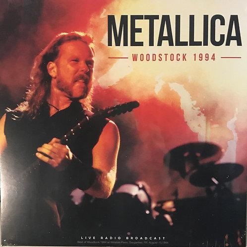 Lp  Woodstock 1994 - Metallica