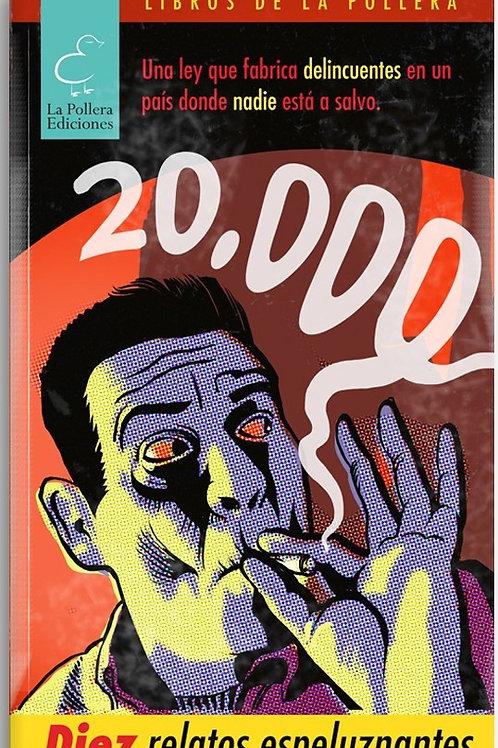 20.000: Diez relatos espeluznantes / VV.AA