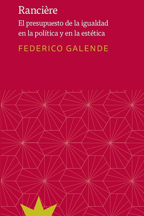 Rancière / Federico Galende