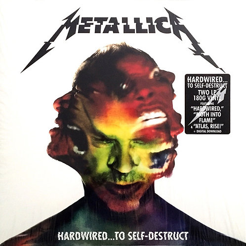 2LP Hardwired... To Self-Destruct - Metallica