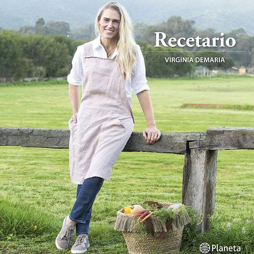 Recetario / Virginia de María