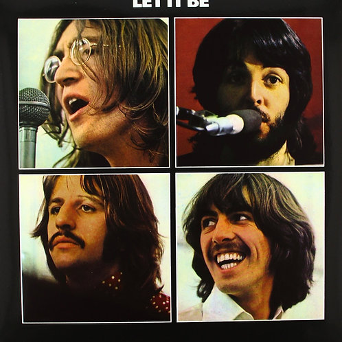 LP Let It Be - The Beatles