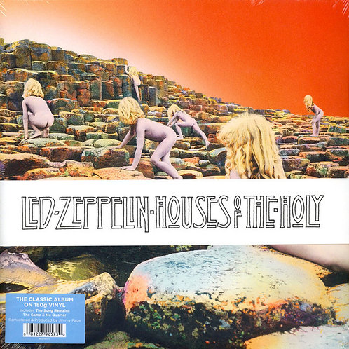 Lp House Of The Holy -   Led Zeppelin